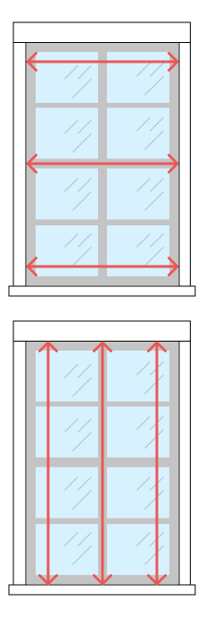 learn how to measure mini blinds. Black Bedroom Furniture Sets. Home Design Ideas