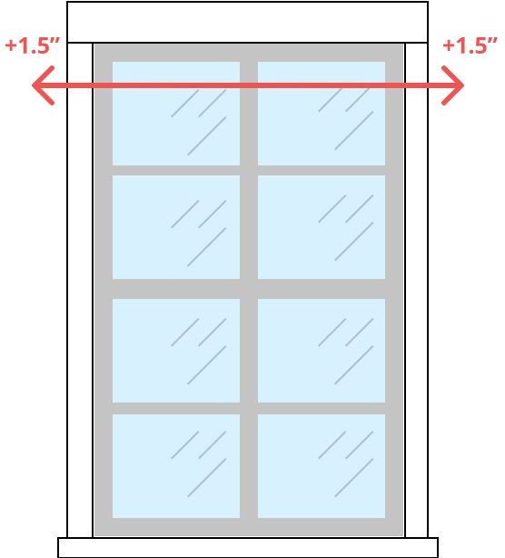 learn how to measure for roller shades. Black Bedroom Furniture Sets. Home Design Ideas